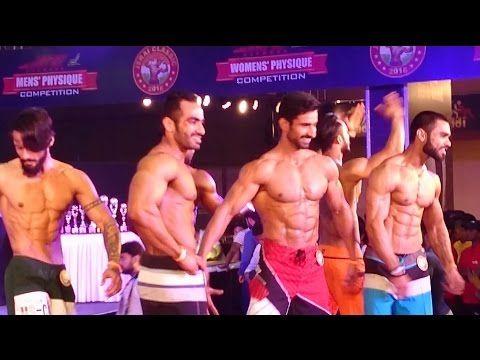 Jerai Classic Men Physique Competition @ Bodypower Expo 2016 Mumbai India