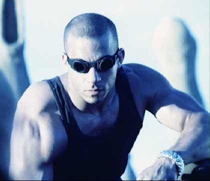 MOVIE:  Pitch Black (2000)  ACTOR:  Vin Diesel: Black 2000, Movies Sci Fi, Movie Pitch, Pitch Black, Scifi, Favorite Movies, Vin Diesel, Movies 2012