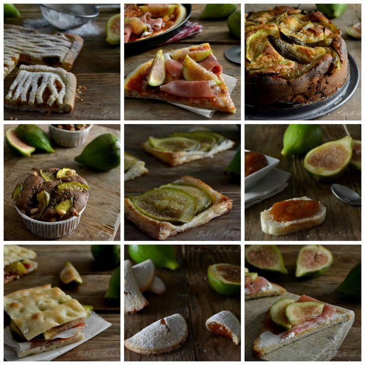 Ricette con i fichi, tante ricette dolci e salate a base di fichi molto semplici…
