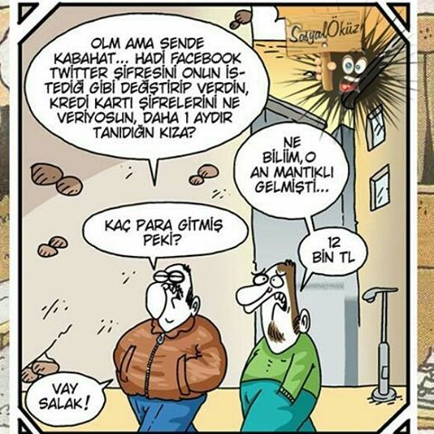 Hayat sevince, paylaşınca güzel! #sosyalöküz #öküz #komik #çok #çokkomik #resim #resimler #eğlence #eğlenceli #mizah #gülümse #gül #kahkaha #karikatür #karikatur #gezi http://turkrazzi.com/ipost/1516077112691534055/?code=BUKMBn6FCjn