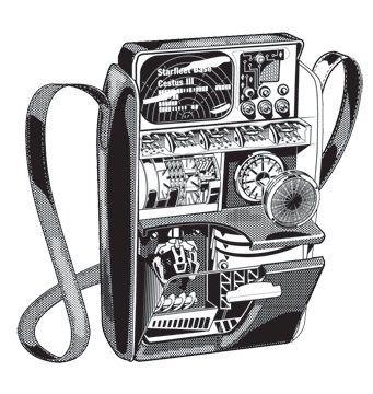 Haynes Tricorder Cutaway