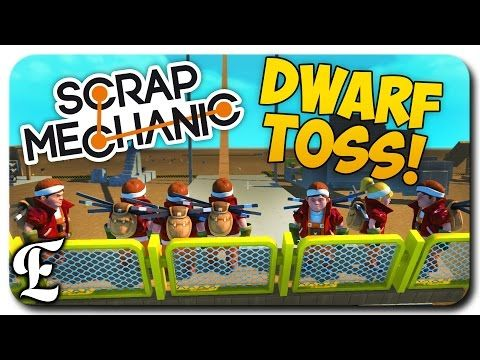 Scrap Mechanic ➤ EPIC DWARF TOSSING CONTEST! [Scrap Mechanic Multiplayer Gameplay] - Best sound on Amazon: http://www.amazon.com/dp/B015MQEF2K -  http://gaming.tronnixx.com/uncategorized/scrap-mechanic-%e2%9e%a4-epic-dwarf-tossing-contest-scrap-mechanic-multiplayer-gameplay/