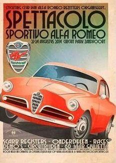 Spettacolo Sportivo Alfa Romeo 2014 - Stichting Club van Alfa Romeo Bezitters - 23 en 24 augustus - Zandvoort
