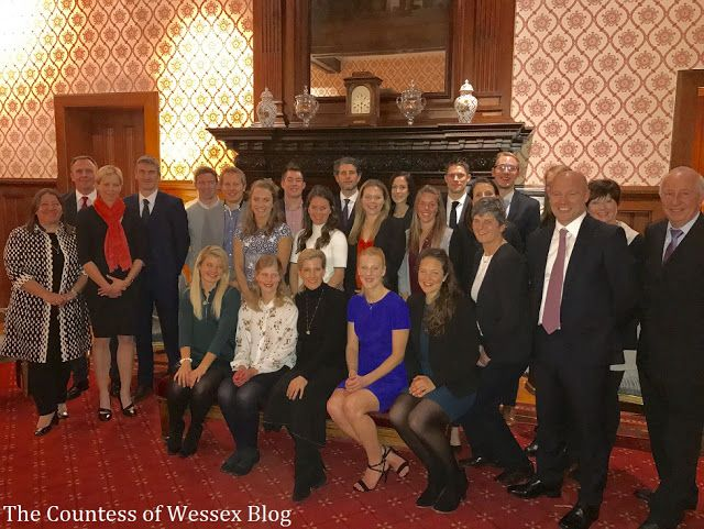 The Countess as Patron of England Hockey held a Reception. Great Britain's women team have won a first Olympic hockey gold medal in Rio, in August 2016