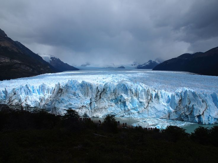 The glacier #PeritoMoreno in Patagonia, #Argentina