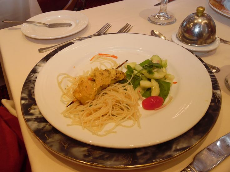 Carnival Legend Main Dining Room 2015 Cruise Food