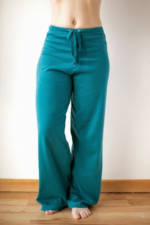 birchfabrics: Free PDF Pattern | Basic Yoga Pants | The Crafty Kitty