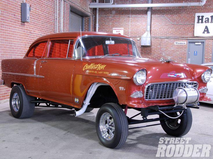 love the orange window tint on this 1955 gasser | Gassers ...