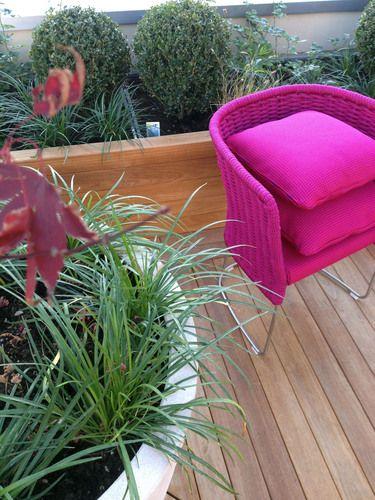 Un tocco di Pink in terrazzo!