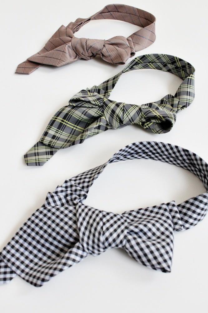 Lily in Tweedy neckties by Lilian Asterfield