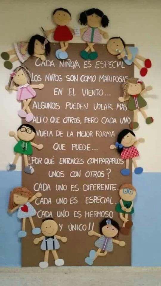 Únicos.  Cartel realizado por Noelia Serrano y Yolanda Montes, maestras del equipo de orientación del C.E.I.P. María Ana de la Calle en El Coronil  ( SEVILLA)