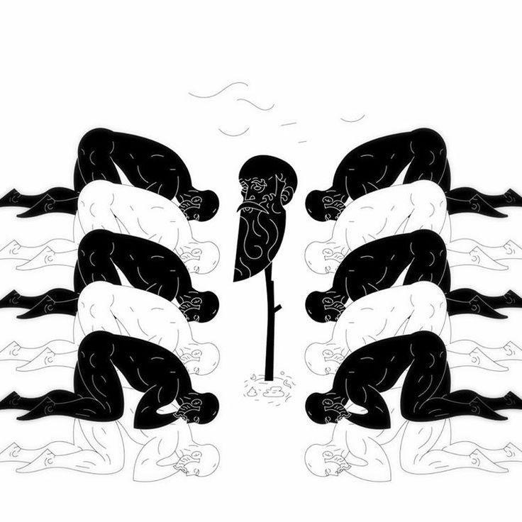Velikomučenik. #beheaded #head #off #satan #friday #prayer #myth #calltoprayer #black #white #illustration #instaart #male #character #stroke #lines #vector #digital #design #graphicdesign #montenegro