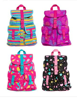 Smiggle - Go Girl Backpack Mix Up. Great for keeping it bright this Summer!