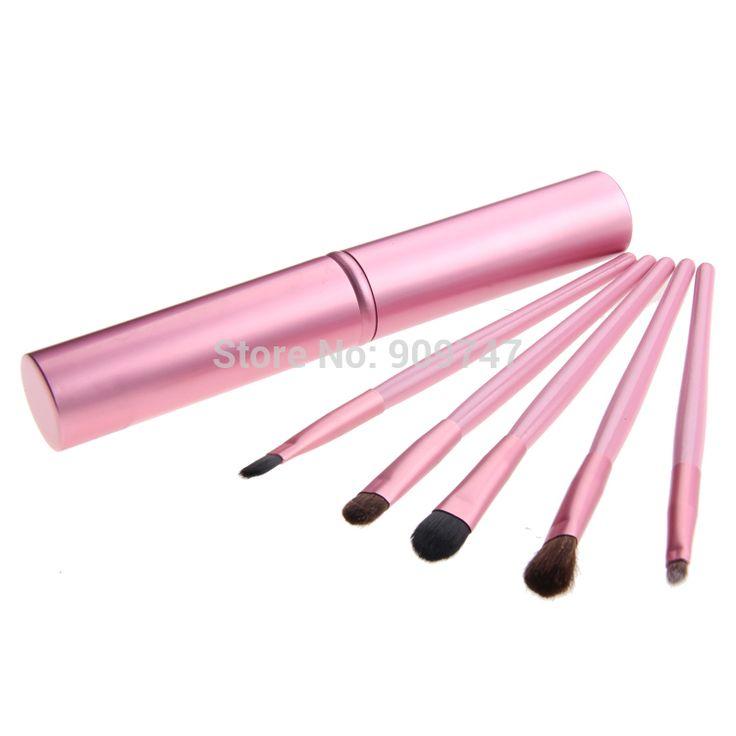 Portable Professional Eye Brushes Set 5pcs 5 pcs Eyeshadow Brush Set Makeup Brushes Tools For Eye Cosmetics Brush #Affiliate