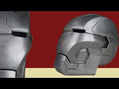 7b8d07317fe #27: Iron Man Mark 42 Helmet Part 1 - Print & Cut (cardboard, with  template) | How To | Dali DIY - YouTube