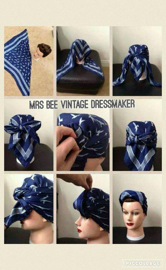 2018 Ankara Head Wrap Styles: Classic Ways To Tie Ankara Head wrap Styles   – Haare