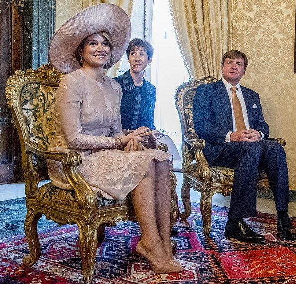 Italy visit of Queen Maxima and King Willem