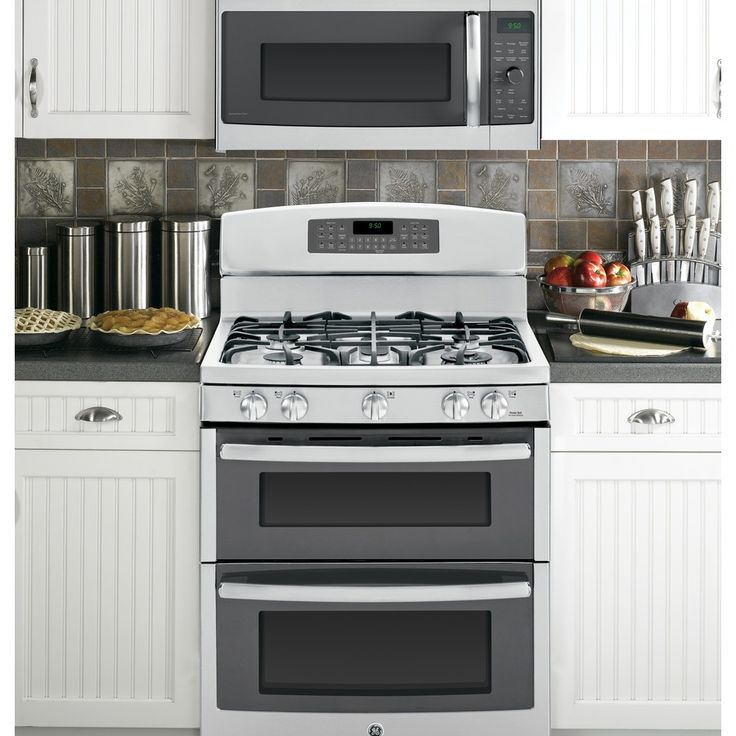 Microwave Oven With Gas Stove: Shop GE Profile 1.7-cu Ft Over-the-Range Convection