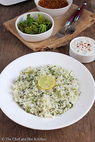 cilantro lime rice2 by prathy27, via Flickr