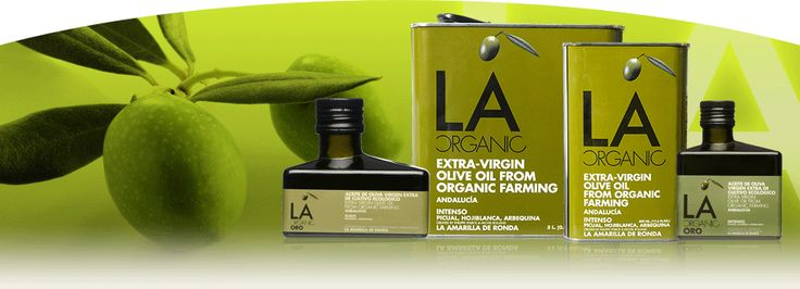 La Organic. Finest organic extra virgin olive oils from Andalucia