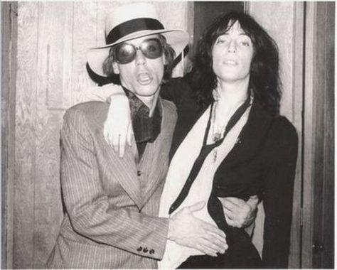 Iggy Pop & Patti Smith