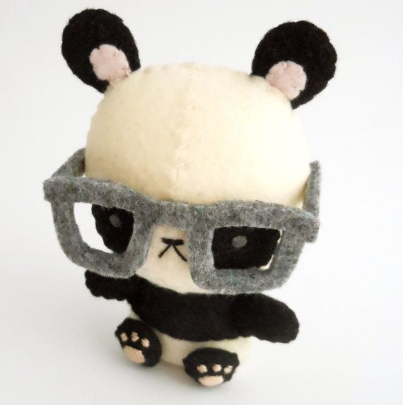 Panda stuffed animals with cool shades, I want one really bad!!