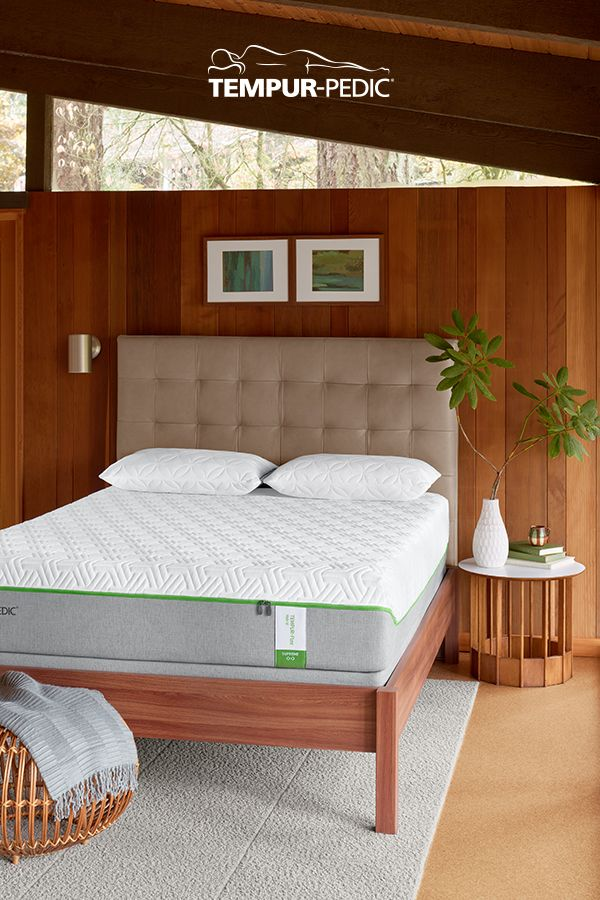 A beautiful bedroom deserves an equally beautiful mattress. Finish off your space with a Tempur-Pedic mattress, and discover the power of life-changing sleep.