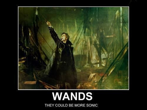 """""""Who looks at a screwdriver/wand and thinks, 'Ooh, this could be a little more sonic'?"""" Barty Crouch, Jr does."""