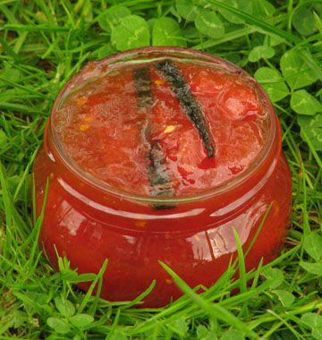 Confiture de tomates coeur de boeuf à la vanille - Recettes de cuisine Ôdélices