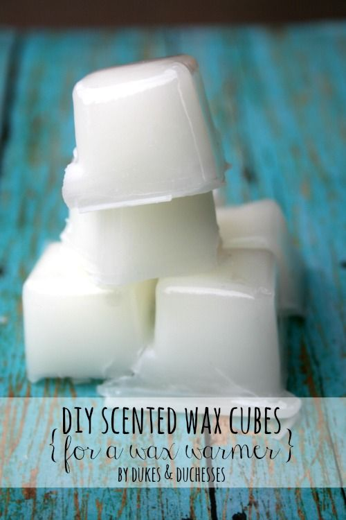 Wax warmers are so popular right now but did you know you can make your own wax cubes in less than ten minutes for a fraction of the price?  And making DI