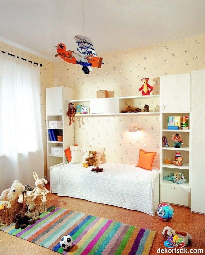 Erkek Çocuk Yatak Odası Duvar Kağıdı