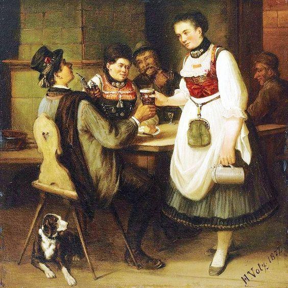 Hermann Volz. Junge Sch 1872: