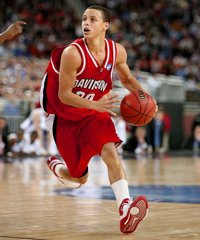 stephen curry when he was in college