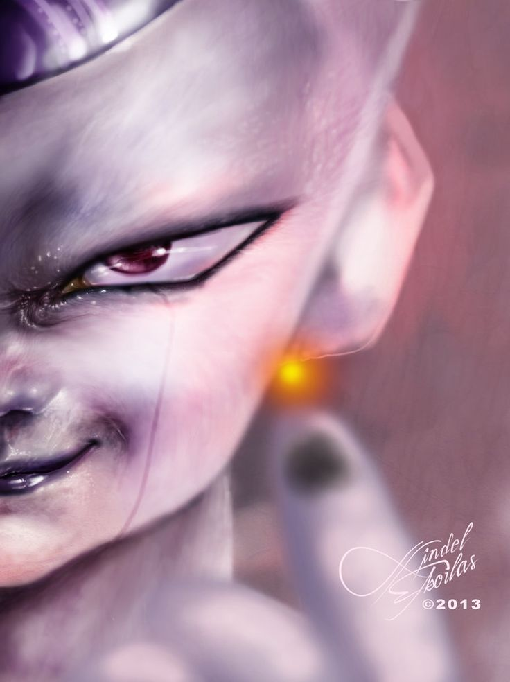 Frieza (super exited that the voice that did friza in the Dbz friza saga is going to voice him for this one)