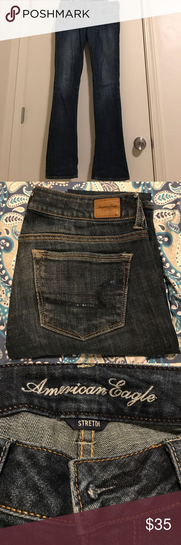 American Eagle Jeans Hello there, Thanks for stopping by :)  I am attending college and looking for a frugal way to adjust my closet! You bundle you save! All offers considered. Smoke free home. Feel free to ask questions and make offers, I have to posh app so I can communicate with you quickly!  Have a good day💕. American Eagle Outfitters Jeans Boyfriend