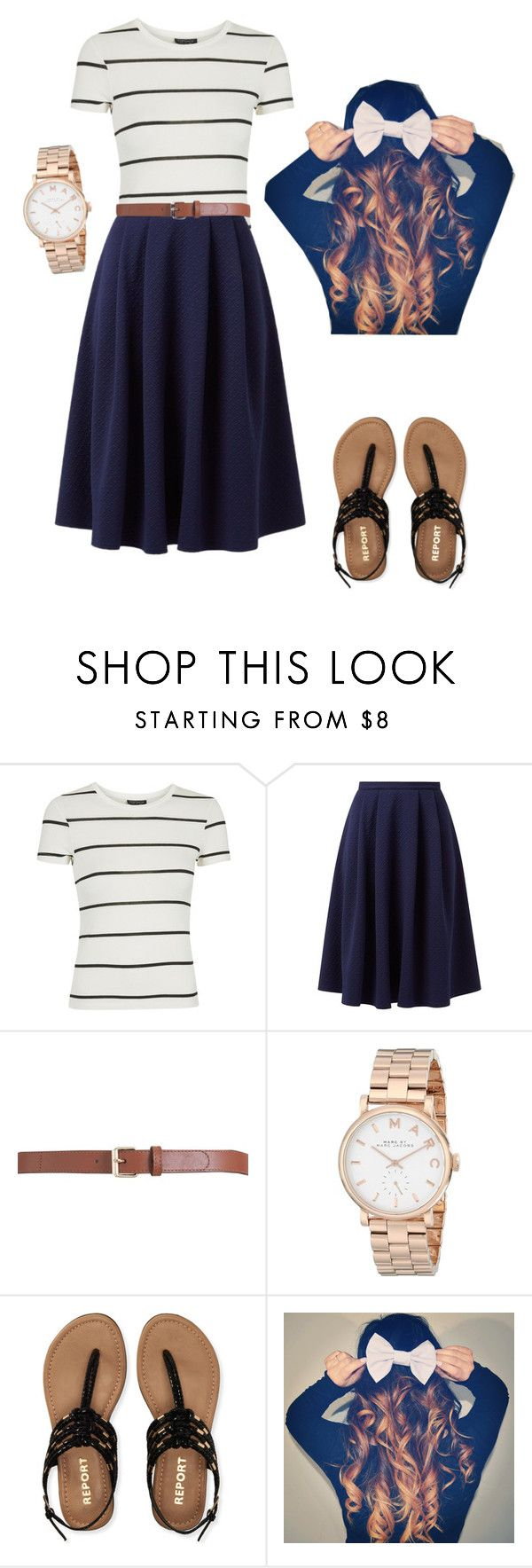 """Casual outfit"" by pentecostalgirll ❤ liked on Polyvore featuring Topshop, Maison Boinet, Marc by Marc Jacobs and Aéropostale"
