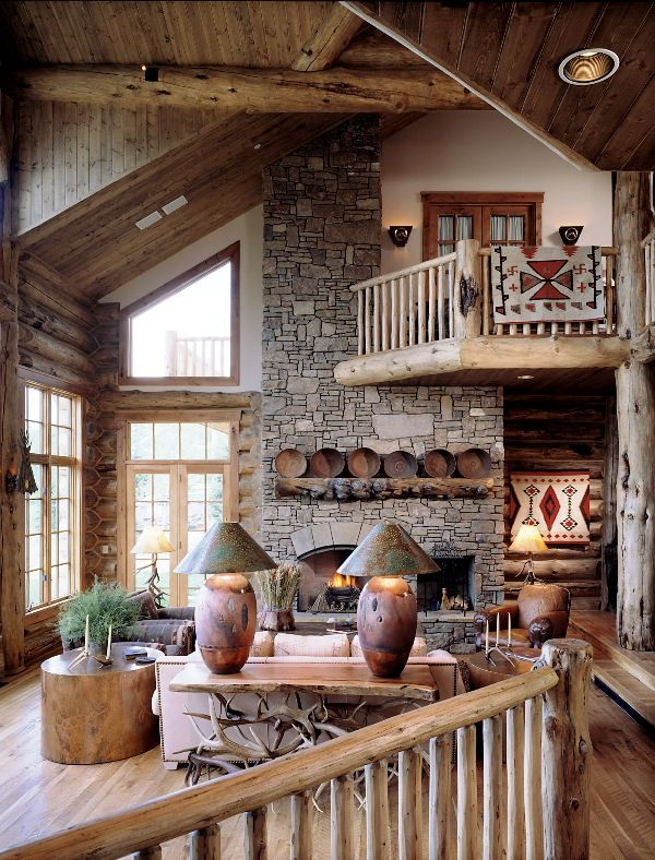 .I love everything about this space. The natural elements are wonderful.