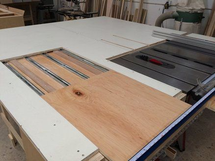 Sliding Table Table Saw
