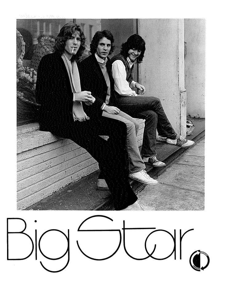 Big Star...Jody Stephens, Alex Chilton and Andy Hummell