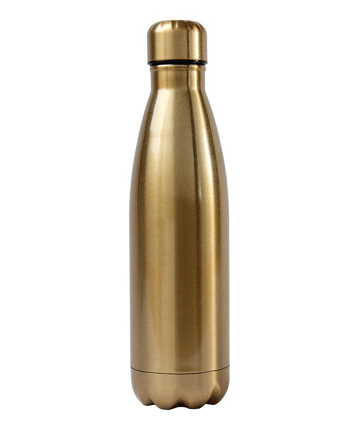 Gold 16-Oz. Stainless Steel Water Bottle