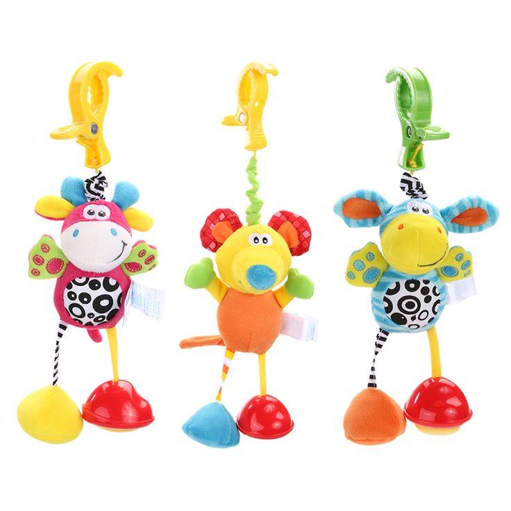 新しいホット幼児のおもちゃモバイル赤ちゃんぬいぐるみベッド風チャイム鐘のおもちゃベビーベッドベッドぶら下げ鐘のおもちゃ