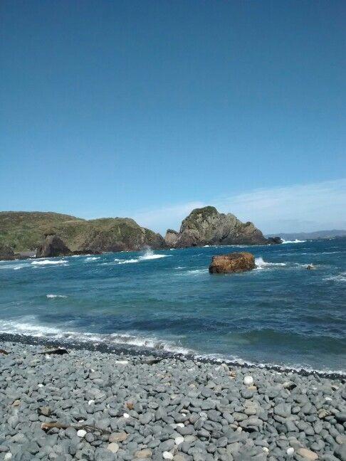 Caleta y Playa Los  Chonos