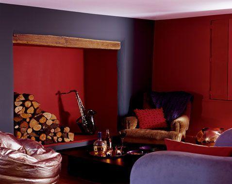 awesome dco salon awesome dco salon decoration salon harmonie peinture couleur violet et rouge