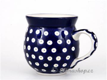 buclák střední 0,35 l -  ELIMAshop.cz  bubble mug 0,35 l   Handmade Polish Pottery from Boleslawiec . Traditional Dots .