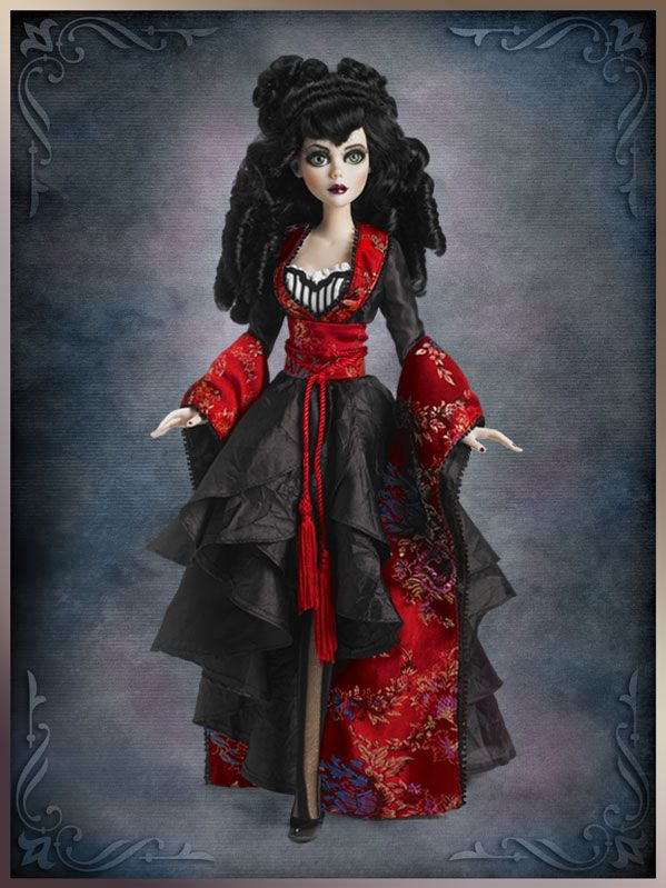 """RARE Wilde Imagination Wrapped in Sorrow Outfit 4 17""""Evangeline VHTF NRFB LE 150"""