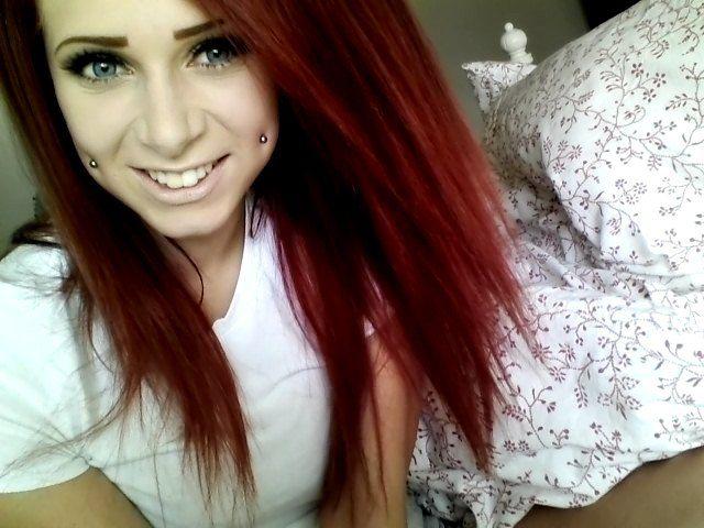 Dimple piercings...love them. Dan would kill me