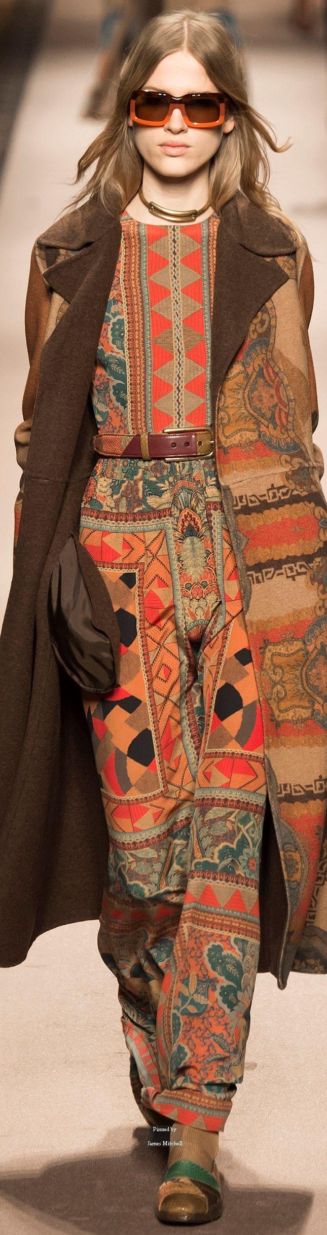 #Farbbberatung #Stilberatung #Farbenreich mit www.farben-reich.com Etro Collections Fall Winter 2015-16 collection