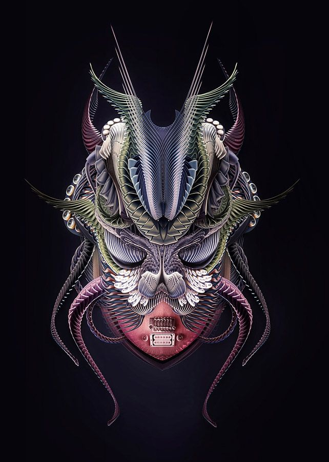 Creative Abstract Graphic Illustrations and Photo manipulations by Nik Ainley