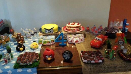 Festa Carros e Angry Birds
