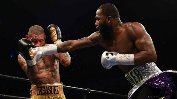 Adrien Broner stops Theophane in nine and calls out Floyd Mayweather